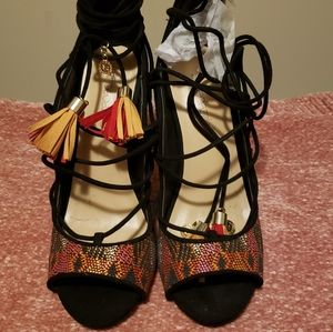 Shoes - Multi-color heels